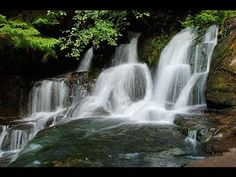 ▶ Very Relaxing 3 Hour Video of SMALL Waterfalls - YouTube