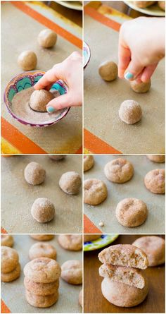 Soft & Thick Snickerdoodles in 20 minutes!