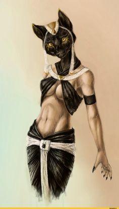 bastet,Anubis,by REYKAT,бастет,анубис,инпу