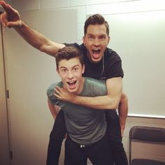 #NOW57 artist Andy Grammer meets #NOW56 artist Shawn Mendes -- so cool!