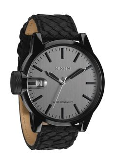 dcf6bb55d93 Nixon The Chronicle Black Snake - watches for sale online