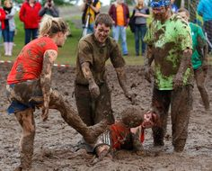 #SwampSoccer gives #Football lovers an extra ordinary add on to the ball game.  Its muddy. It's crazy.