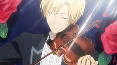 Usui Takumi. and violin._.