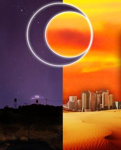 Night Vale and Desert Bluffs<<I can see the glow cloud in night vale you…