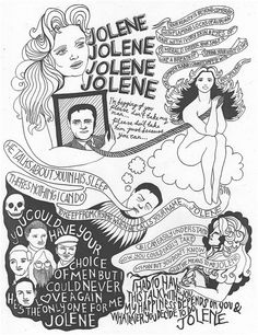 My most vivid memory of vinyl from my childhood was Dolly's JOLENE.