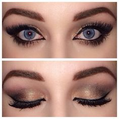 Image result for dramatic makeup blue eyes