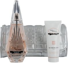 Ange Au Demon Le Secret Gift Set By Givenchy 3 Pcs Includes 3.3 Oz Eau De Parfum.2.5 Oz Silk Body Veil.and Silver Pouch by Givenchy. $81.47. Recommended Use: romantic. Fragrance Notes: patchouli, citrus, water lily, green tea, white peony, white musk, blond woods, cranberry, sambac jasmine. Design House: Givenchy. Givenchy Ange Ou Demon Le Secret Set Includes: Eau De Parfum Spray 3.4 oz Body Lotion 2.5 oz & Pouch Givenchy Ange Ou Demon Le Secret Set Description: Ange ou DÃ