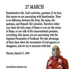 TO SUBSCRIBE: To get Srila Prabhupada's daily quotes subscribe and you will get daily quotes in your mail box :  http://harekrishnacalendar.com/subscribe/  Chant Hare Krishna And Be Happy