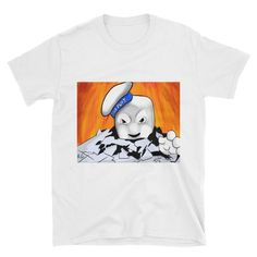 Stay Puff Marshmallow Man Short-Sleeve Unisex T-Shirt Stay Puff, Ghostbusters Stay Puft, Stay Puft Marshmallows, Nerdy Shirts, Short Sleeves, Comfy, Unisex, Awesome, T Shirt