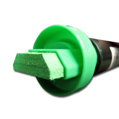 """Giant 1 1/4"""" Tip Neon Green Car Glass Marker. You can use these bright NeoMarker waterproof pens on a variety of surfaces, including acrylic boards, glass, stone, metal, plastic and most any other smooth surface."""