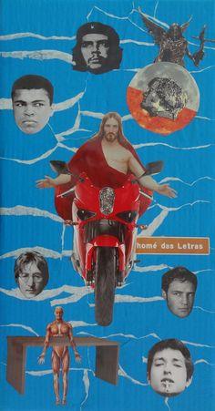 Jesus Numa moto (inspirada na música homônima de Sá, Rodrix e Guarabira)