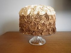 Chocolate Ombre Cake #Ombre