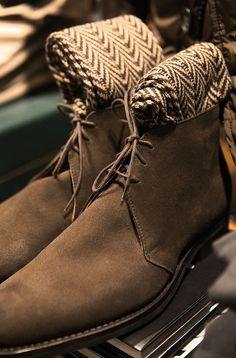 Men Brown Chukka Lace Up Formal Handmade Boot High Ankle Boots, Shoe Boots, Men's Boots, Male Fashion Trends, Mens Fashion, Gentleman Shoes, Gentleman Style, Derby, Men Dress