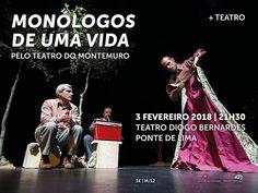 Monólogos de Uma Vida | Teatro | Teatro Diogo Bernardes | Ponte de Lima