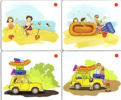 Different logic story pics Sequencing Pictures, Sequencing Cards, Story Sequencing, Teaching English, Learn English, Storyboard Drawing, Autism Classroom, Learn Korean, Best Artist