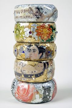 Bangles, bangles and more bangles! #EvocateurStyle #jewelry