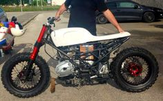 Punisher Scrambler BMW R 1200 R by Motor Tondo