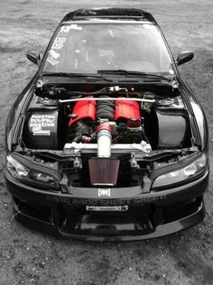 Visit The MACHINE Shop Café... ❤ Best of Nissan @ MACHINE ❤ (Nissan Silvia S15 with Chevy V8)