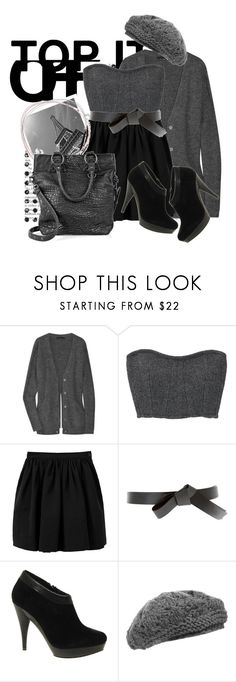 """top it off(:"" by cherrybomb101 ❤ liked on Polyvore featuring Alexander Wang, Carven, Charles Anastase, ASOS, MANGO, Anna Kula, Sara Berman, knit berets, paris and ankle booties"