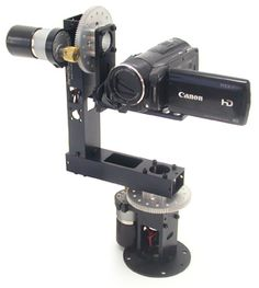 ntroducing the new MPT1100-SS pan and tilt system from ServoCity! The pan and tilt head is the ideal size for DSLR and smaller bodied cameras.