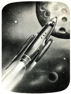 1952 ... hood ornament in space! by x-ray delta one, via Flickr