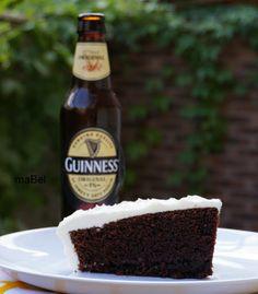 Torta guinness o de cerveza negra (Nigella Lawson ¿?) ~ Pasteles de colores