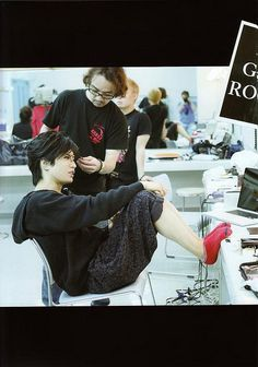 Gackt Camui being casually gorgeous~