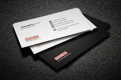 Business card presentation template presentation templates business card template by creative shop on creativemarket colourmoves