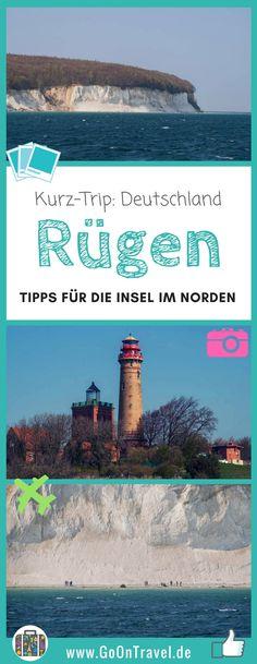 Die berühmten Kreidefelsen sind das Wahrzeichen auf der nördlichen Insel Rügen von Deutschland. Ob vom Wasser aus oder ein Spaziergang am Strand, der Besuch von Kap Arkona - auf Rügen lässt sich auf einem Kurztrip viel unternehmen.