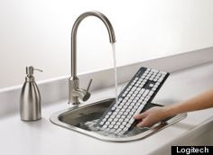 Finally!  A washable keyboard!