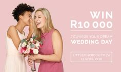 To celebrate the launch of our brand new website, we are giving one lucky bride-to-be the chance to win R10 000.00 towards her wedding!