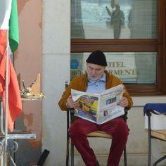An old Italian gentleman in Venice