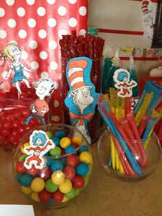 Dr. Seuss (Suessville) Birthday Party Ideas | Photo 59 of 64 | Catch My Party