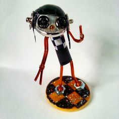 Check out this item in my Etsy shop https://www.etsy.com/uk/listing/454934004/rudi-the-rude-girl-ska-robot-mod-robot