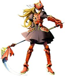 Lady Harken from Wild Arms Alter Code: F