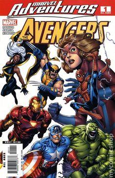 Marvel Adventures Avengers (2006) 1