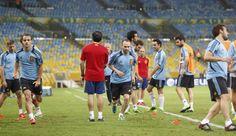 Iniesta y Soldado, en Maracaná en la Copa Confederaciones 2013 #seleccionespanola #LaRoja #diariodelaroja