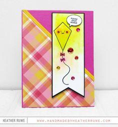 Handmade by Heather Ruwe: SSS May Card Kit