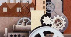 Paul Kelpe: (Machinery Abstract #2), 1934 | Art Seen in Person | Pinterest
