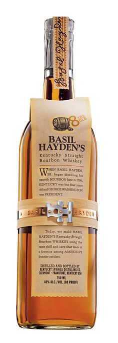 Finally had the chance to review a long-time favorite bourbon of mine - Basil Hayden's Bourbon.