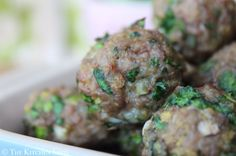 The Kitchen Shed - Clean Eating Turkey Meatballs