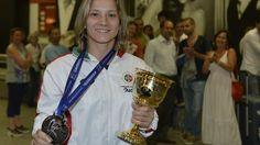 #Desporto   Judoca Portuguesa Telma Monteiro Vence Grand Slam de Abu Dhabi  #NREntertain   O Melhor Do #Entretenimento