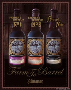 Almanac Beer Shows Off Farm To Barrel Series Beers - Coming 2/1