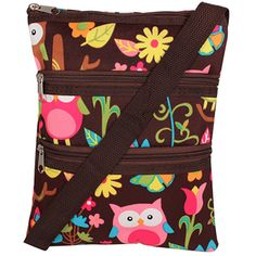 Hoooo let the Owl out? ;) Adorable Owl Give a Hoot Hipster Bag, starting at $6.