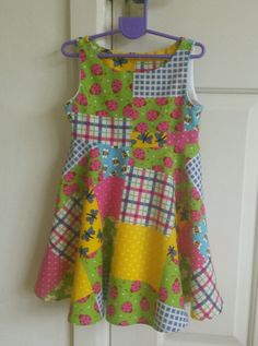 Dress for a 2 year old using New Look pattern 6688 New Look Patterns, 2 Year Olds, Homemade Crafts, Summer Dresses, Fashion, Moda, Summer Sundresses, La Mode, Fasion