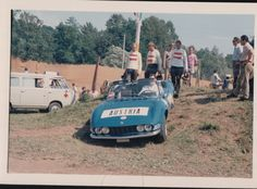 Austrian fans in the old days of Maggiora motocross