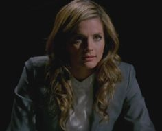 "Stana Katic as Kate Beckett in Castle Season 5 Episode 16 ""Hunt"""