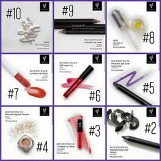 CAN YOU GUESS WHAT YOUNIQUE'S #1 PRODUCT IS???  10. DIVINE Moisturizer 9. POUTY Lip Liner 8. UPLIFT Eye Serum 7. LUXE Lip Gloss 6. SHY Lip Stain 5. PASSIONATE Eye Liner 4. SEXY Eye Pigment 3. LOVESICK Lip Gloss 2. PERFECT Eye Liner 1. ???  For your own personal consultation over the internet, private message me! http://youniquebycandice.com/