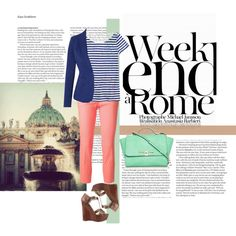 """""""Weekend in Rome"""" by camilovesfashion on Polyvore"""