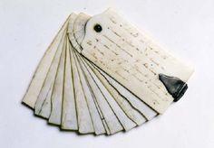 Thomas Jefferson's Pocket Notebook.  Erasable Ivory